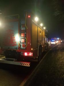 01.02.2019 - Wypadek Karchowice