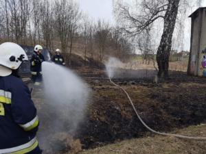 04.03.2019 - Pożar Zbrosławice