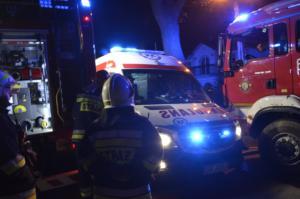 10.04.2019 - Pożar Ptakowice