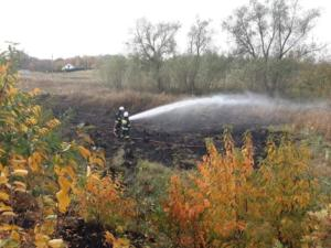 16.10.2018 - Pożar trawy