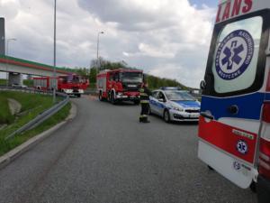 18.05.2019 - Wypadek A1