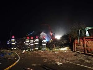 19.10.2018 - Pożar Lasowice