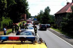 20.07.2018 - Wypadek Karchowice