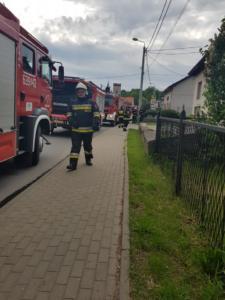 21.05.2019 - Pożar Kamieniec
