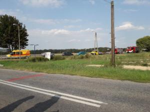 22.08.2018 - Wypadek Boniowice
