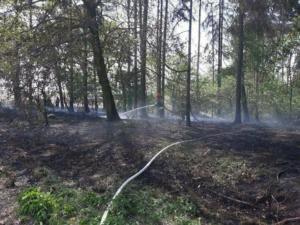 30.04.2018 - Pożar Ptakowice