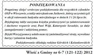 Podzi kowanie WzG 6 7 2012