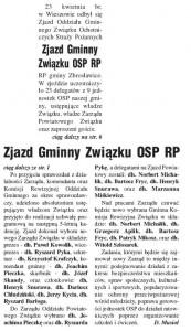 Zjazd Gminny OSP